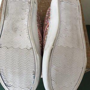 GAP Factory Shoes - Gap Kids Pink Sparkles Slip Ons